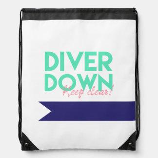 Diver Down Sling Bag Drawstring Bag