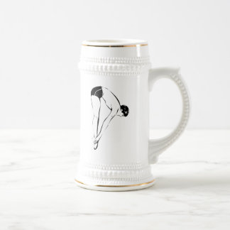 Diver High Diving Coffee Mugs