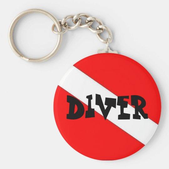 Diver Key Chain