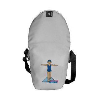 Diver - Medium Courier Bag