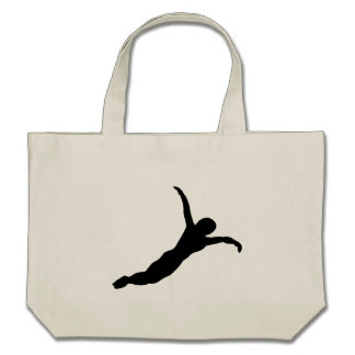 Diver Silhouette Bags