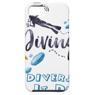 divers do it deeper tough iPhone 5 case