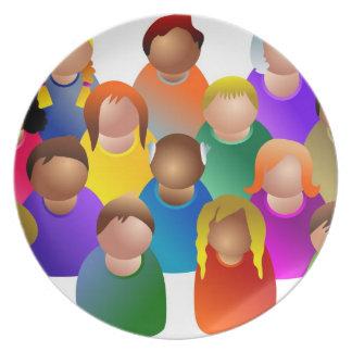 Diverse Community Plate