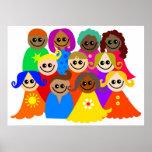 Diverse Kids Poster