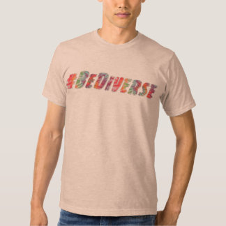 "Diverse Society ""#BeDiverse"" Unisex Tee"