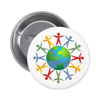 Diverse World 6 Cm Round Badge