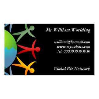 Diverse World Business Cards