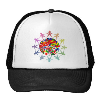Diverse World Mesh Hat
