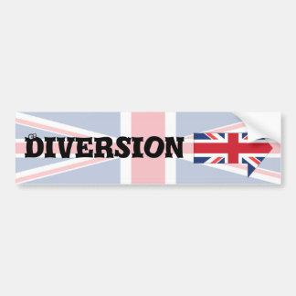 Diversion Bumper Sticker