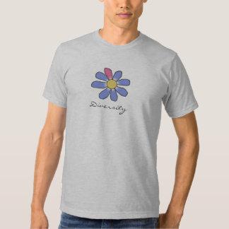 DIVERSITY blue T-shirts