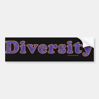 Diversity Bumper Sticker