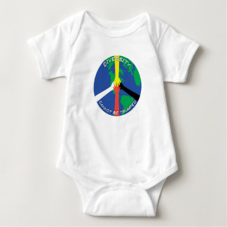 Diversity Cannot Be Trumped Baby Bodysuit