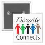 Diversity Connects Square Button