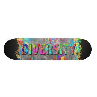 Diversity. Custom Skateboard