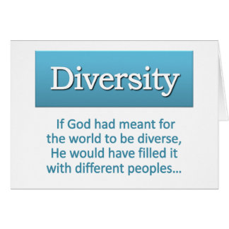 Diversity Definition Note Card