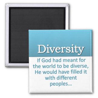 Diversity Definition Square Magnet