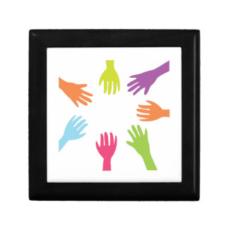Diversity Hands Gift Boxes