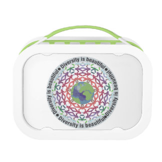 Diversity is beautiful lunch box