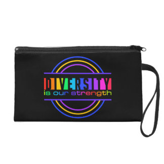 """""""Diversity is our strength"""" accessory bags"""