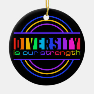 Diversity ornament, customize christmas ornament
