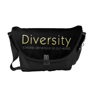 Diversity Owls Messenger Bag