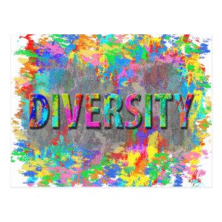 Diversity. Postcard