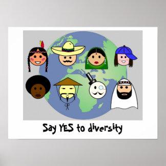 'Diversity' poster
