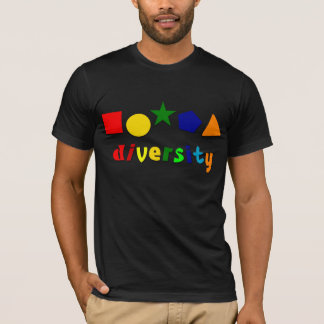 Diversity Shapes T-Shirt