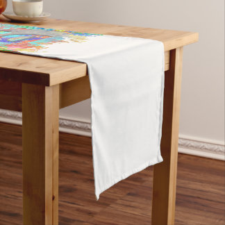Diversity. Short Table Runner