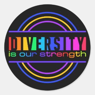 Diversity stickers