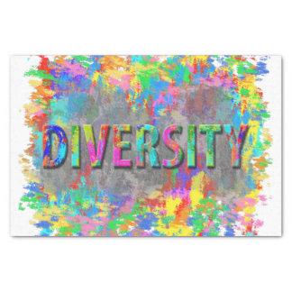 Diversity. Tissue Paper
