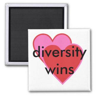 diversity wins square magnet