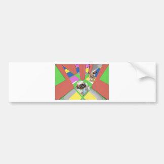 diverting course jpg bumper sticker