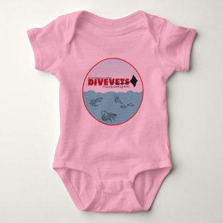 """DiveVets """"Ocean Baby Bodysuit"""