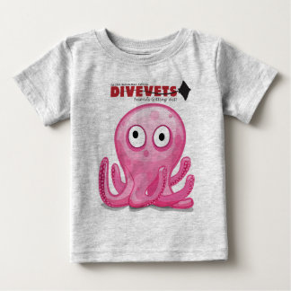 """DiveVets """"Octo"""" Kids-T Baby T-Shirt"""