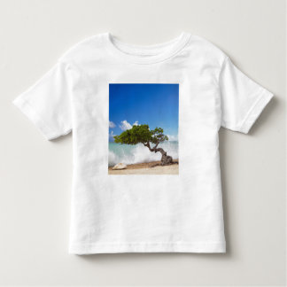 Divi Divi Tree, Eagle Beach, Aruba, Caribbean Toddler T-Shirt