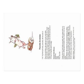 Divina Porchetta Recipe Postcard