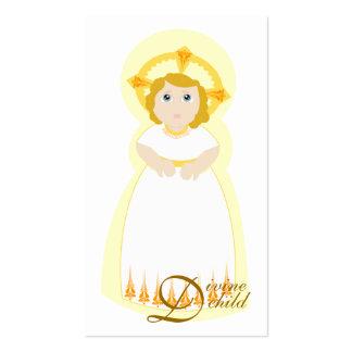 Divine Child Card-Customize Business Card Template