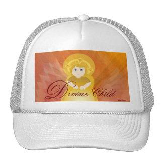 Divine Child Dazzling Love Fiery Angel's Wings Trucker Hat