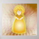 Divine Child Dazzling Love White Angel's Wings