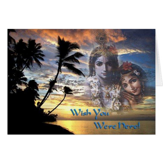 Divine Couple Sunset Card