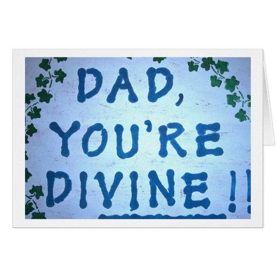 Divine Dad Card