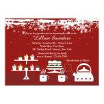 Divine Desserts Winter-Theme Invitation