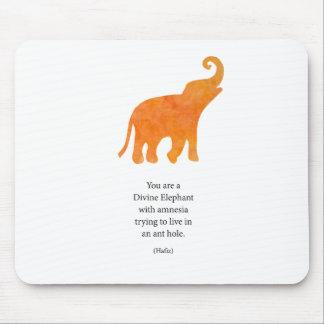 Divine Elephant Mouse Pad