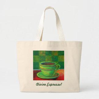 Divine Espresso! by Deb Magelssen Studip Canvas Bag