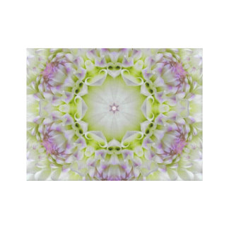 Divine Grace Flower Canvas Print