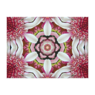 Divine Grace Mandala Canvas Print