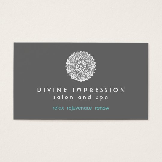 Divine Impression Blue 2 Business Card