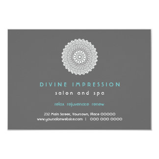 Divine Impression Blue Gift Certificate 9 Cm X 13 Cm Invitation Card