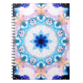 Divine Light Multiverse Mandala Spiral Note Books